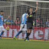 """Napoli-Sassuolo: fischietto affidato a Di Bello, bilancio da """"talismano"""" azzurro!"""