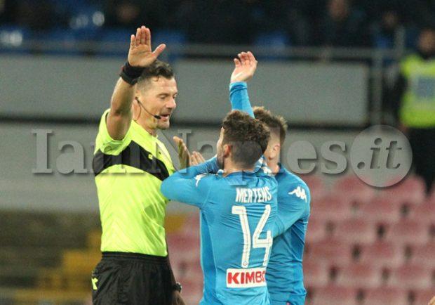 TABELLA RAI – 4 partite sotto la lente di ingrandimento, quanti errori arbitrali contro il Napoli!