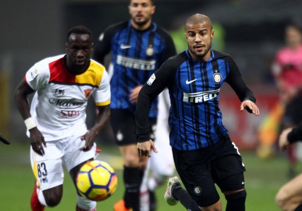 Inter-Benevento 2-0: nerazzurri al 3° posto, sanniti in dieci nel finale