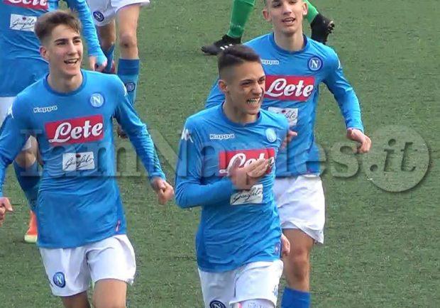 VIDEO – Under 16, Cosenza-Napoli 1-3: splendido goal di Umile su calcio di punizione