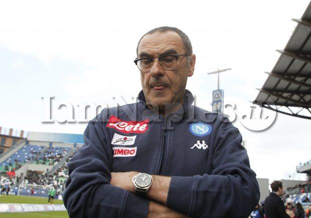 """SSC Napoli, la radio ufficiale: """"L'incontro tra Sarri e De Laurentiis si è tenuto a casa del mister con grande serenità. Filtra ottimismo"""""""