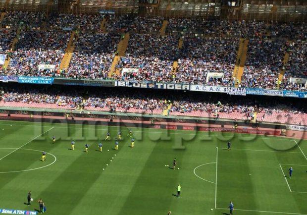 Napoli-Crotone verso il sold-out: restano poche migliaia di biglietti delle Curve inferiori