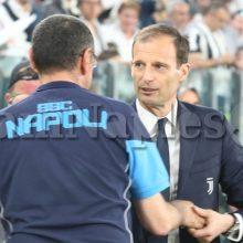 """Allegri: """"Sarri alla Juve? Ha fatto un grande lavoro sia al Napoli che al Chelsea"""""""
