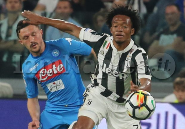 Dalla Spagna – Clamoroso Napoli, si punta Cuadrado dalla Juventus: i dettagli