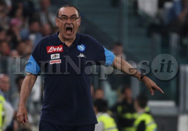 Crc – Chelsea-Sarri, accordo in fase di definizione. Il Napoli ha un problema con l'ex staff del tecnico