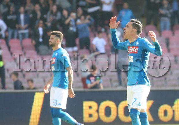 Rai – Callejon può andare al Milan, United su Mertens e City su Jorginho. Hysaj e Kou possono restare