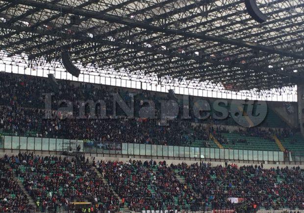 Ultrà Napoli, 3 arresti per aver picchiato uno steward prima della partita