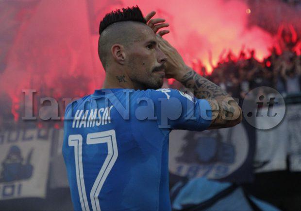 SKY – Napoli, Hamsik resterà in azzurro. Per il capitano niente Cina