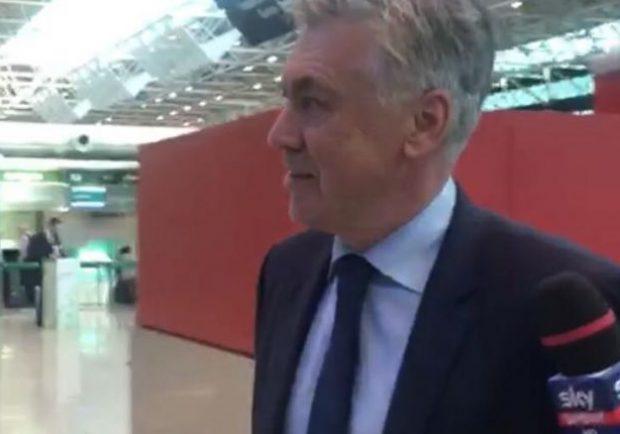 Ancelotti sbarca a Roma la settimana prossima: previsti più incontri con De Laurentiis