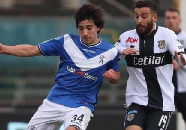 """Obiettivi Napoli – Brescia, il """"golden boy"""" Tonali vicino al rinnovo"""