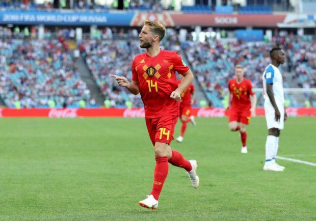 FOTO – Mertens nella storia del Belgio: è il secondo belga a segnare in due edizioni dei Mondiali