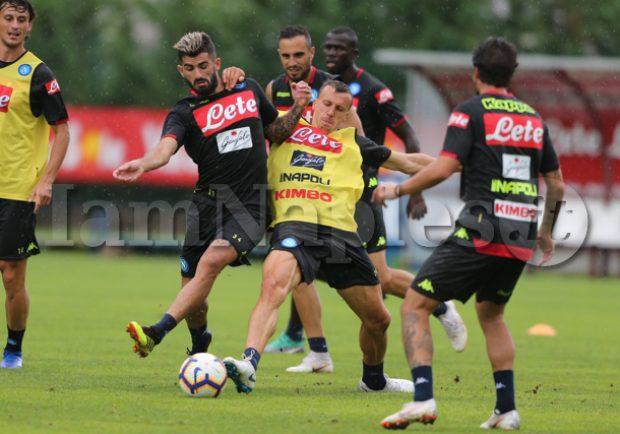 Napoli, ultime da Wolfsburg: gli azzurri preparano la sfida di sabato