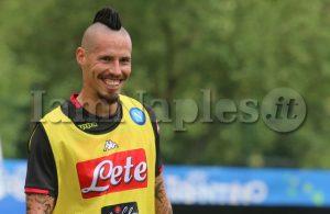 Napoli-Lazio, i convocati di Ancelotti: assenti Hamsik e Younes