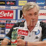 PHOTOGALLERY – Ancelotti abbraccia l'azzurro: ecco gli scatti di IamNaples.it della presentazione del tecnico