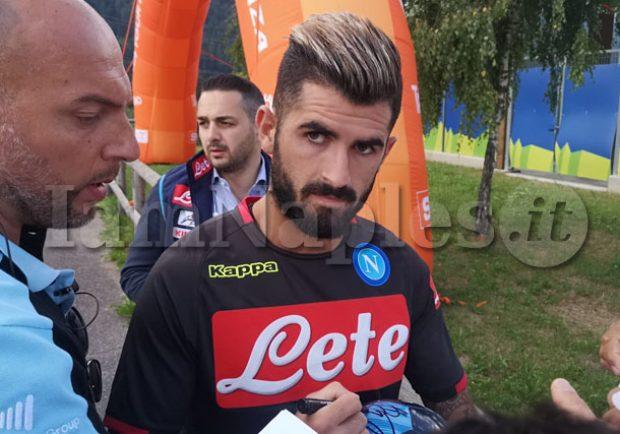 FOTO – Dimaro, Hysaj e Ciciretti incontrano i tifosi al termine dell'allenamento