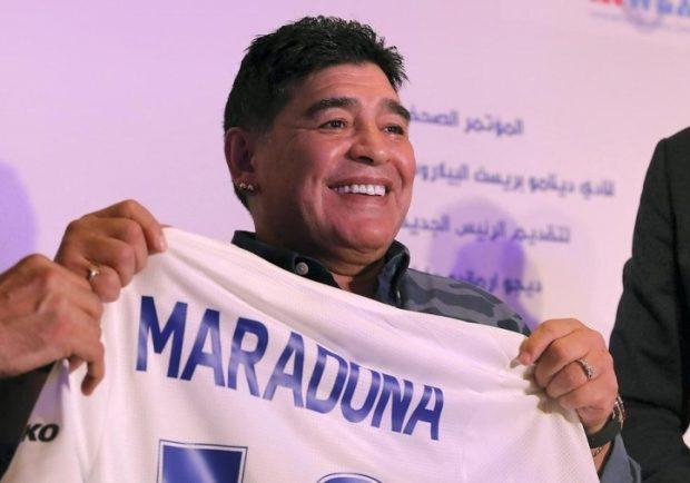 """Maradona: """"Siamo orgogliosi di Messi, ma Ronaldo è un animale!"""""""