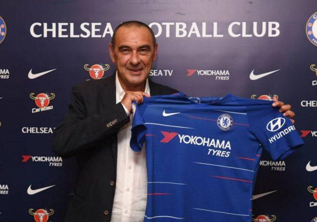 """RILEGGI IL LIVE – Chelsea, Sarri si presenta: """"Spero di poter finalmente vincere, la discussione con il Napoli…"""""""