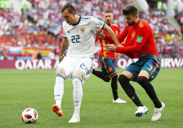 Mondiali, la Russia batte clamorosamente la Spagna ai rigori: fatali gli errori dal dischetto di Koke e Iago Aspas