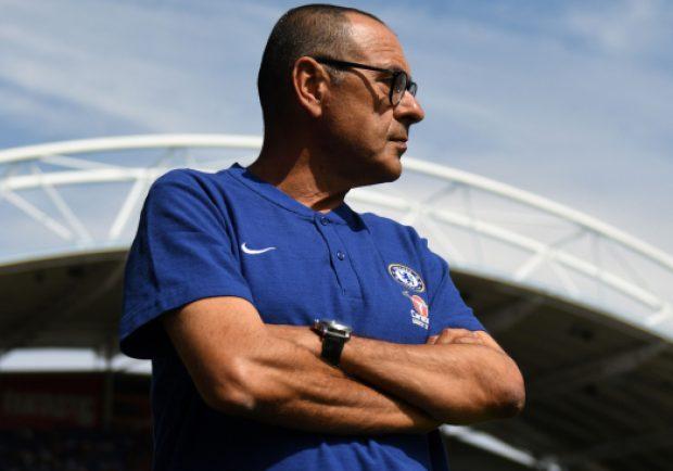 """Dinamo Kiev-Chelsea, Sarri: """"Il campo della Dinamo è un disastro, così i calciatori rischiano di infortunarsi"""""""