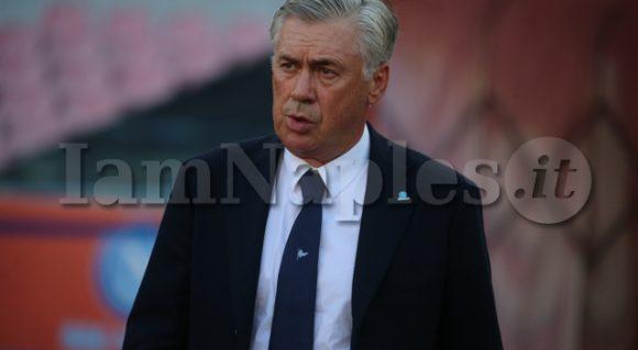 """Ancelotti a Sky: """"Siamo stati sfortunati e poco incisivi. Abbiamo perso due punti, ma mancano ancora 5 partite"""""""