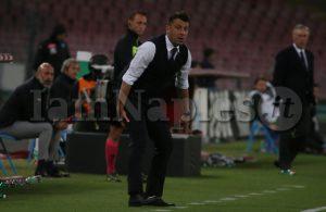 """D'Aversa: """"Nel primo tempo potevamo fare di più, andiamo avanti di partita in partita"""""""