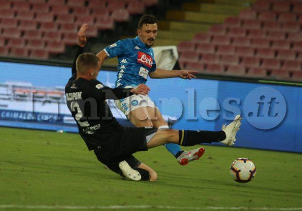 SKY – Napoli, si ferma Mario Rui: i tempi di recupero