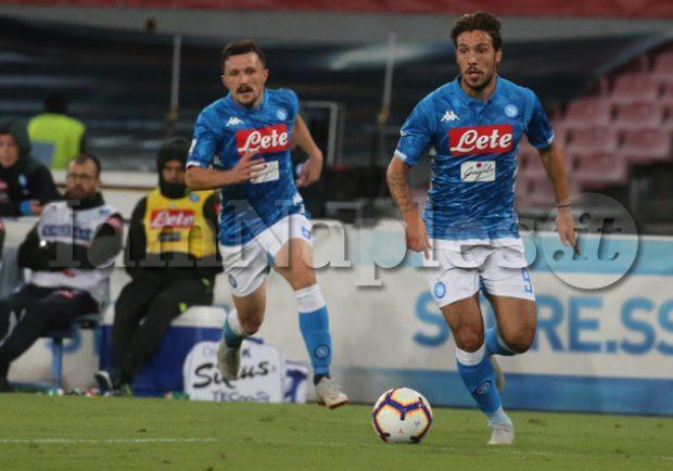 Ssc Napoli – Confermata la distrazione di primo grado per Rui, si ferma anche Verdi