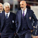 FOTO – Fiorentina-Atalanta, tensione a fine partita fra Gasperini e Pioli