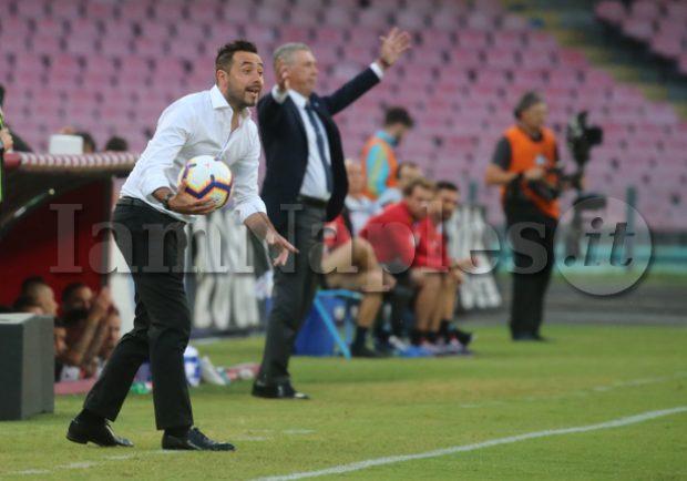 """De Zerbi: """"Abbiamo preso goal evitabili, ma sono contento della prestazione"""""""