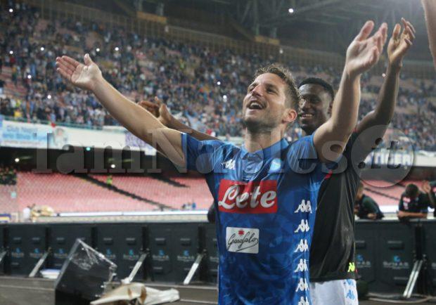 """Mertens: """"Scudetto? Il Napoli c'è, anche la Juve avrà delle difficoltà. Si è parlato di un mio addio, ma sono ancora qui"""""""