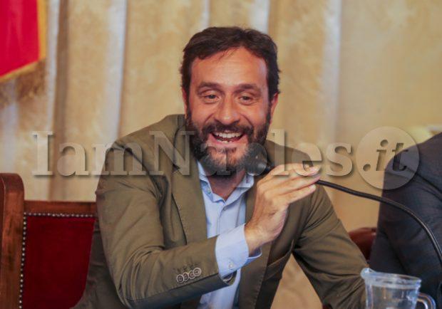 """L'ass. Borriello: """"San Paolo? Impianti audio e luci i più moderni d'Italia. Maxi-schermi e bagni già pronti"""""""