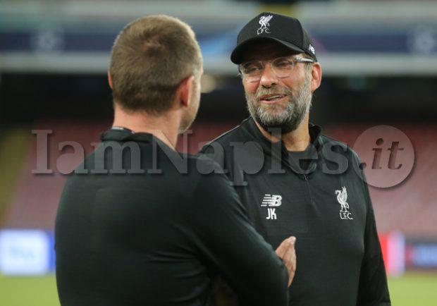 """Liverpool, Klopp: """"Ancelotti ha esperienza, gli azzurri si chiuderanno per contrattaccare…"""""""