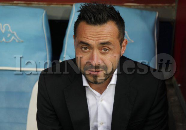 Napoli-Sassuolo, l'undici titolare di De Zerbi: 4-3-3 con Locatelli a centrocampo e Boateng punta centrale