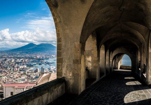 Il Totem Touch Screen è stato installato anche Castel Sant'Elmo