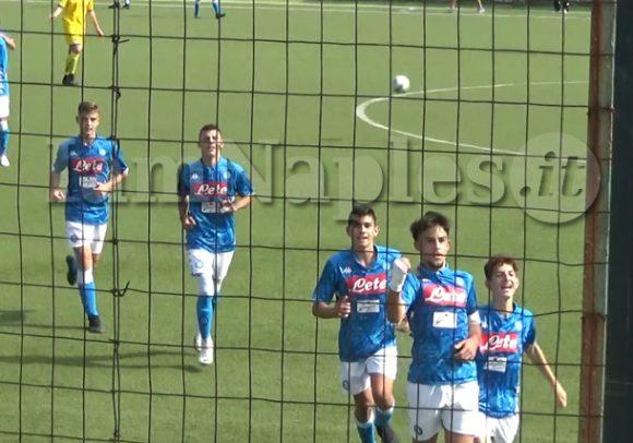 VIDEO IAMNAPLES.IT – Under 15 A e B, Napoli-Frosinone 3-0: gli highlights del match