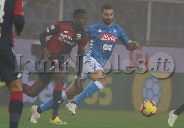 RAI – Kouamè, martedì altro incontro tra Napoli e Genoa. I dettagli