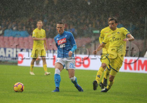 """Zielinski: """"Sono felicissimo a Napoli e spero di tornare a giocare ai miei livelli. Ancelotti? Possiamo solo imparare da lui, è speciale"""""""