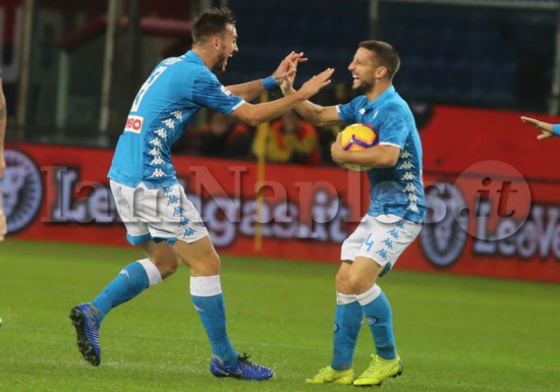 PHOTOGALLERY – Genoa-Napoli 1-2: rivivi il match con gli scatti di IamNaples.it