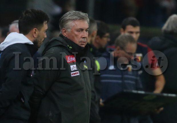 Repubblica – Ancelotti ha capito di non dover abusare del turnover: la partita viene risolta da Fabian e Mertens