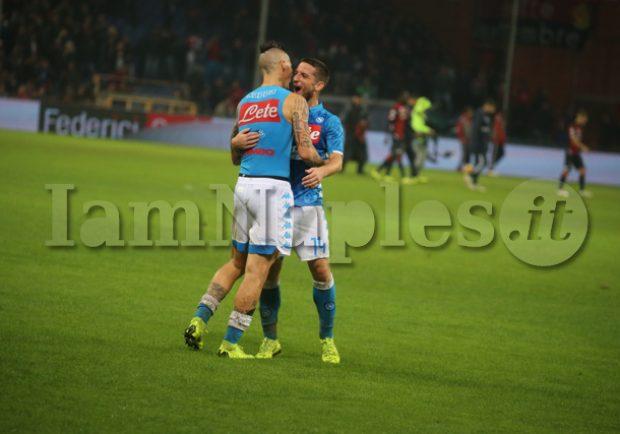 "Ssc Napoli: ""Lavoro differenziato per Hamsik e Mertens"""