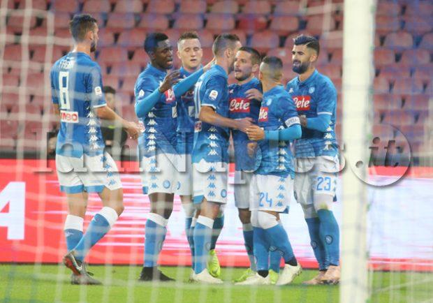 CLASSIFICA – Il pareggio col PSG basta al momento agli azzurri per conquistare il primato del girone C a pari punti con il Liverpool
