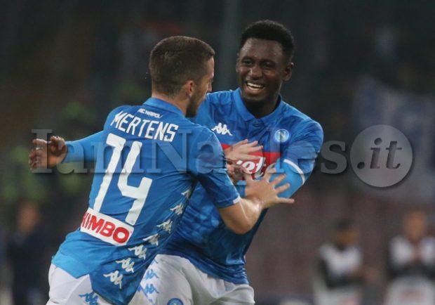 SSC Napoli, Diawara torna ad allenarsi in gruppo. Differenziato per Ounas e Insigne