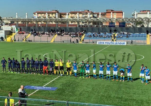 RILEGGI IL LIVE – Youth League: Napoli-Paris Saint-Germain 2-5, gli azzurrini sfiorano la rimonta, poi crollano