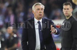 """Ancelotti: """"Non dobbiamo avere rimpianti, la squadra ha fatto il massimo. In Europa League vogliamo essere in gioco fino alla fine"""""""