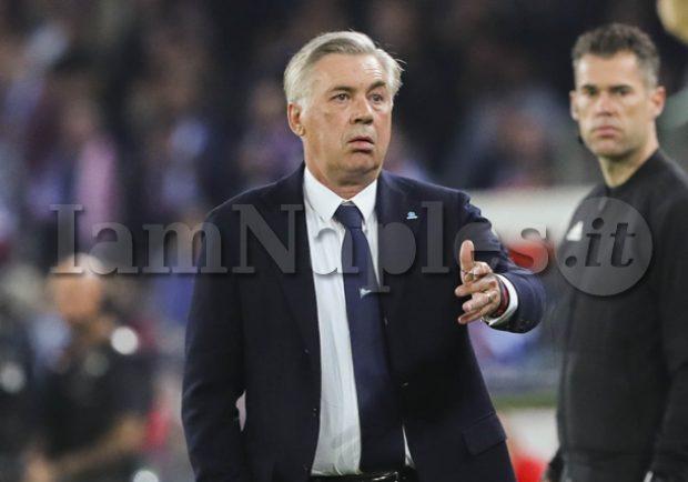 """Ancelotti: """"Meret sta bene e può giocare con il Frosinone. Il match con i ciociari non sarà facile"""""""