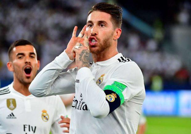 """Sergio Ramos: """"Ronaldo dovrebbe chiarire quello che ha detto, il nostro spogliatoio è unito"""""""