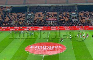 Sono in vendita i biglietti di Settore Ospiti per Milan-Napoli: tutte le info