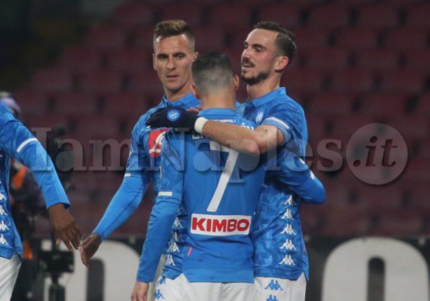 """Fabiàn Ruiz: """"Sappiamo che la Coppa Italia è importante per il Napoli. Ora pensiamo alla Lazio"""""""