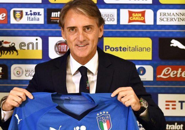 """Italia, Mancini: """"Non è stata una partita facile, meglio nella ripresa"""""""