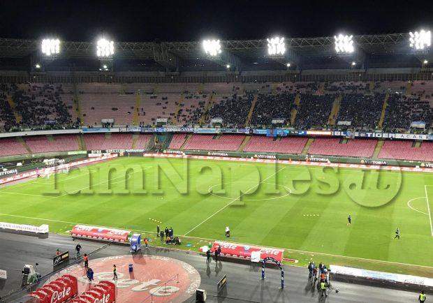 Napoli-Torino, biglietti in vendita:  Curve a 14 euro. I dettagli